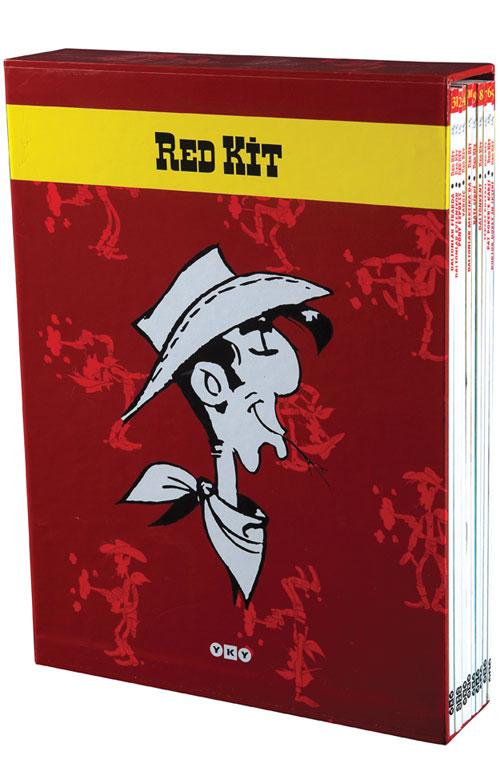 Red Kit 1-10 sayıları kutusu