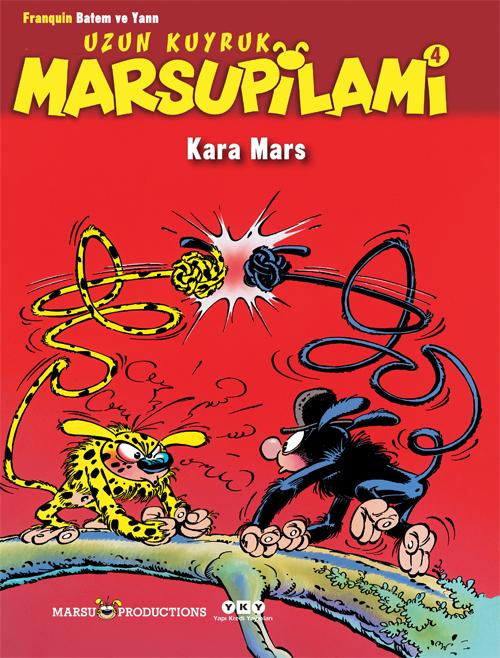 Uzun Kuyruk Marsupilami 4 – Kara Mars