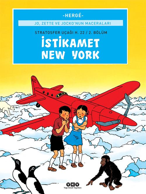 Jo, Zette ve Jocko'nun Maceraları 2 – İstikamet New York