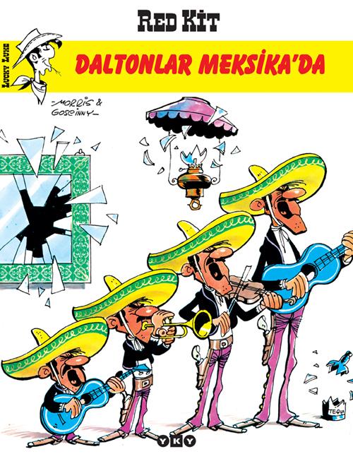 Daltonlar Meksika'da – Red Kit 10