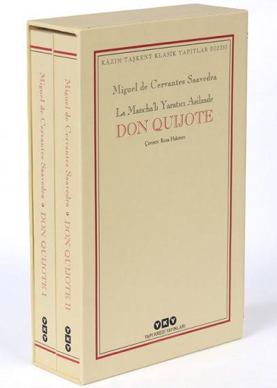 Don Quijote (kutulu, 2 cilt)
