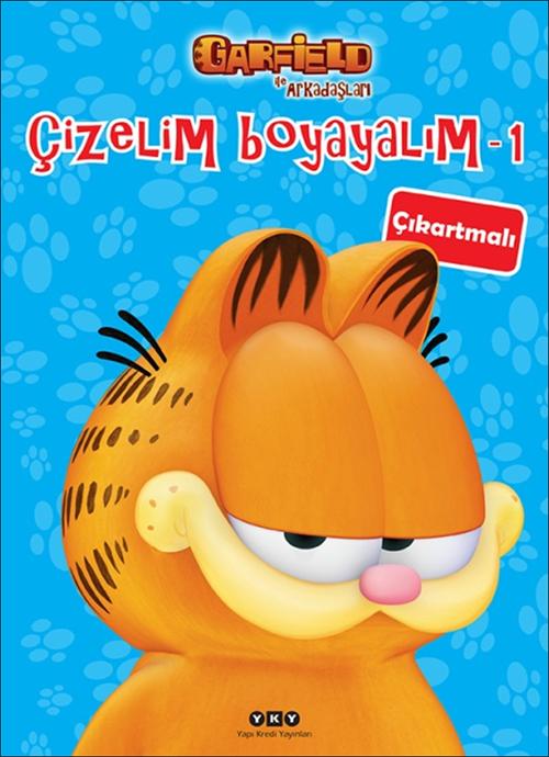 Çizelim Boyayalım 1 – Garfield ile Arkadaşları (çıkartmalı)