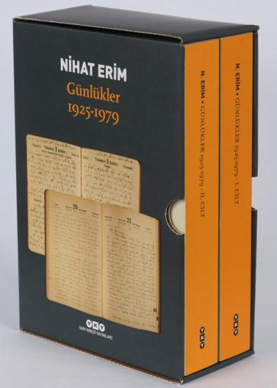 Nihat Erim / Günlükler 1925 – 1979 (kutulu, 2 cilt)