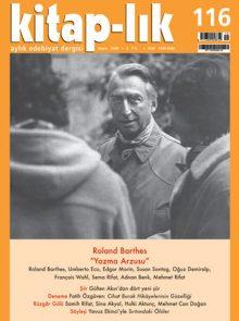"""Roland Barthes: """"Yazma Arzusu"""""""