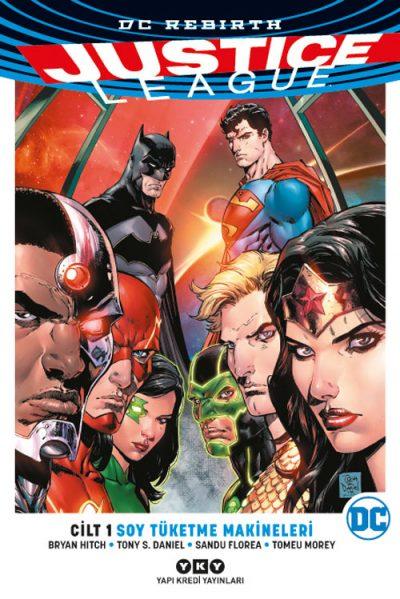 Justice League Cilt 1 – Soy Tüketme Makineleri