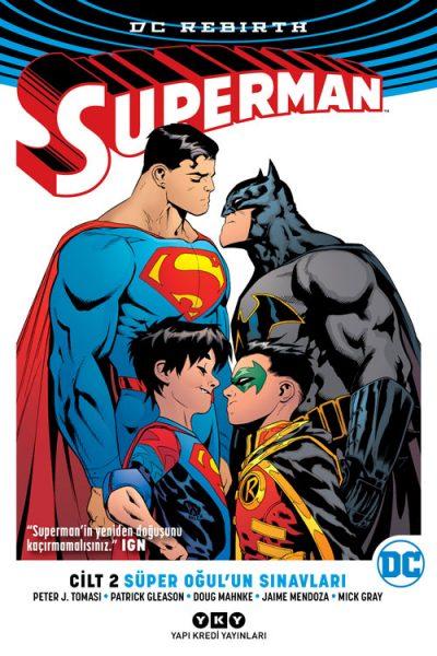 Superman Cilt: 2 – Süper Oğul'un Sınavları