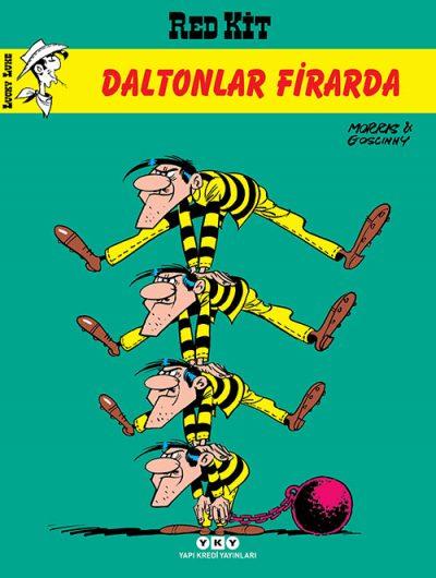 Daltonlar Firarda – Red Kit 3