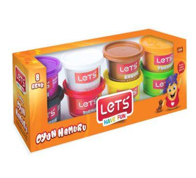 Lets L8348 – 8 Renk Oyun Hamuru