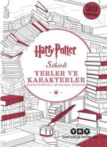 Harry Potter Sihirli Yerler ve Karakterler – Kartpostal Boyama Kitabı